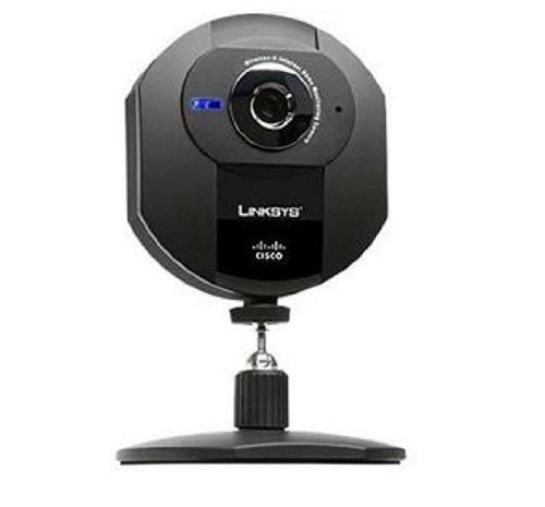 Cisco-Linksys WVC54GCA Webcam 640x480 802 11G Wireless Internet Home  Monitoring Camera